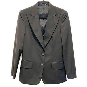 Gucci Uniform Black Blazer Suit Jacket size 42